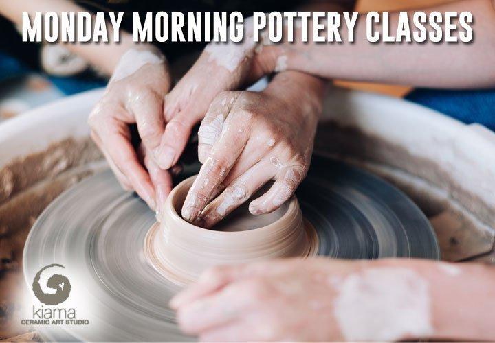 Monday Morning Pottery Class